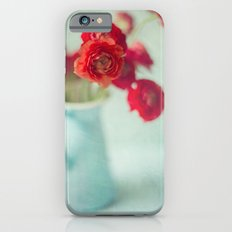 Ranunculus in Blue Vase Slim Case iPhone 6s