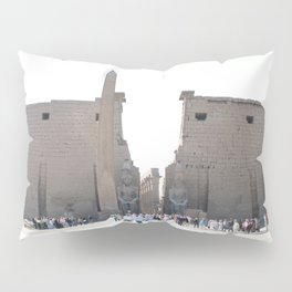 Temple of Luxor, no. 10 Pillow Sham