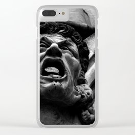 Salisbury Cathedral - Agony Of The Biting Imps Clear iPhone Case