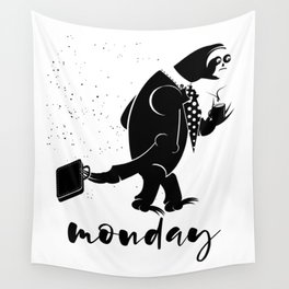 Sloth Monday's Wall Tapestry