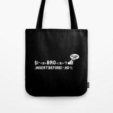Bro Code | Geek Programmer Tote Bag