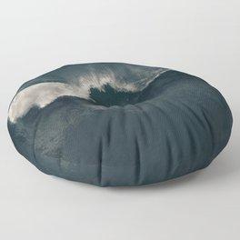 Indigo Ocean Blues Floor Pillow