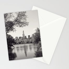 Central Park from Bow's Bridge Stationery Cards