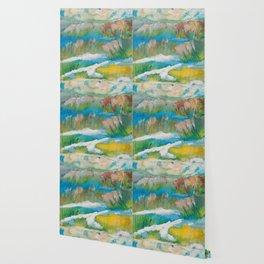 Alberta Spring Landscape / Dennis Weber of ShreddyStudio Wallpaper
