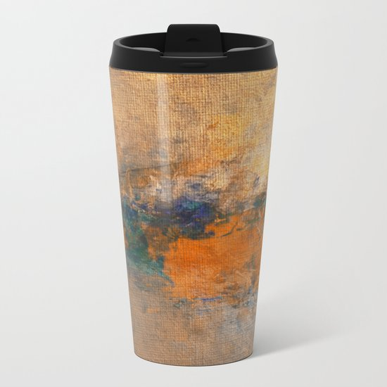 Golden River Metal Travel Mug