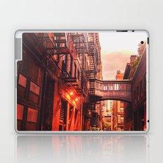 New York City Alley Laptop & iPad Skin