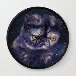 Lord Pizza Smoosh Wall Clock