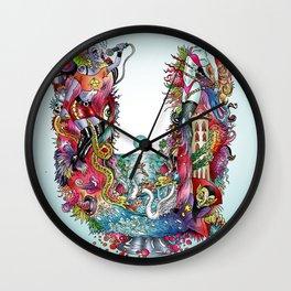 U Wall Clock