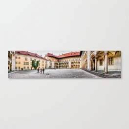 Wawel Cracow panorame 3 Canvas Print