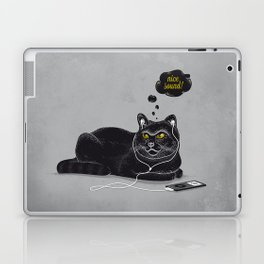 Chilling Cat Laptop & iPad Skin