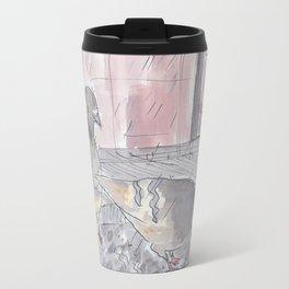Portland Pigeons - Big Pink Travel Mug