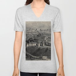 The great controversy between Christ and Satan 1888 Unisex V-Neck