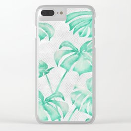 city leaf Clear iPhone Case