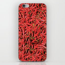 Red Hot Chilli Design iPhone Skin