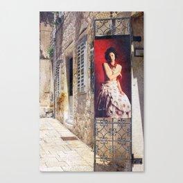 La Boutique Canvas Print