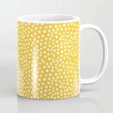DOT PATTERN - yellow and white Mug