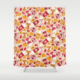 Pumpkin Spice Love Shower Curtain