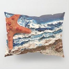 Starfish on the beach Pillow Sham