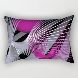 go pink -10- Rectangular Pillow
