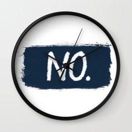 No. Wall Clock