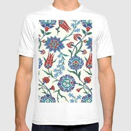 Arabic Turkish pattern #21 - Iznik decor T-shirt