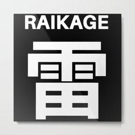 Raikage Metal Print