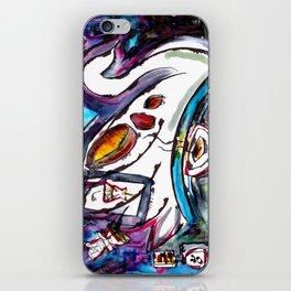 Intergalactic Swan iPhone Skin