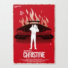 Christine (Red Collection) Canvas Print