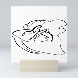 Surf : Snow XV Mini Art Print