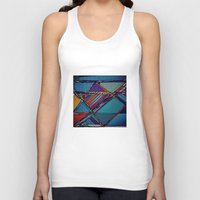 urban Tank Tops featuring Urban by Julia Tomova