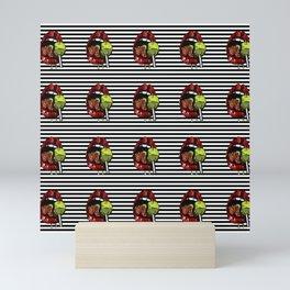Pop art lolipop Mini Art Print