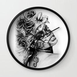 ANTONIA DDLM B&W Wall Clock