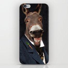 Donkey Eddie E. Smith iPhone Skin