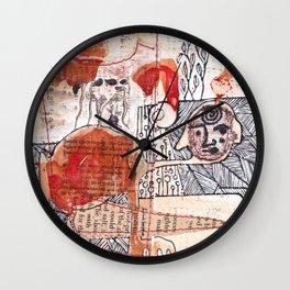 Germination Wall Clock