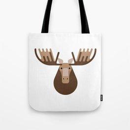 Minimalistic wildlife 16 – Elk Tote Bag