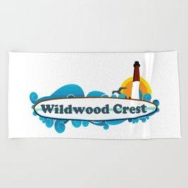 Wildwood Crest - New Jersey. Beach Towel