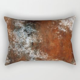 Marbled Structure 4C Rectangular Pillow