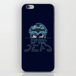 Tron Of The Dead iPhone Skin