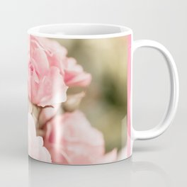 Vintage roses bouquet sepia toned flowers Coffee Mug