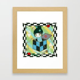 The Queen of Jacks Framed Art Print
