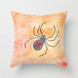 Halloween Spider 2016 Throw Pillow
