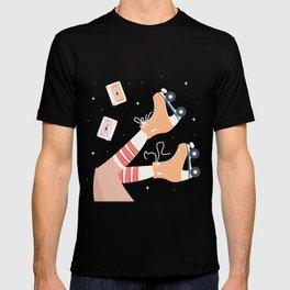 Roller skate girl 003 T-shirt