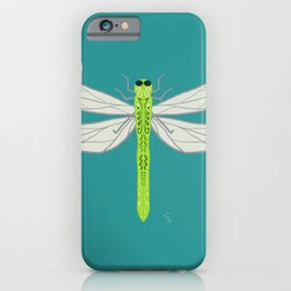 Funky Firefly Green iPhone Case