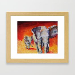 Leading the Way Framed Art Print