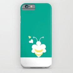 Honey Bee Green Yellow Heart Love iPhone 6s Slim Case