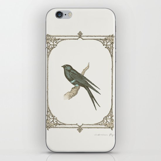 A Victorian Bird iPhone & iPod Skin