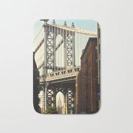 Manhattan Bridge view 3 Bath Mat