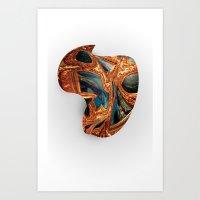 MELT.1  Art Print