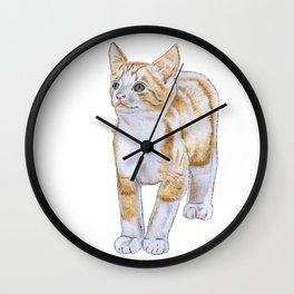 Adorable Kitten Wall Clock
