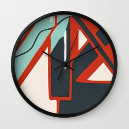 In the street No1 Wall Clock